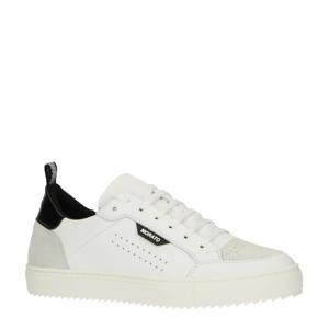 Low Keen  leren sneakers wit