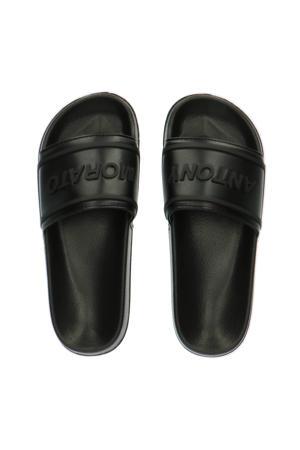 Harlem  slippers zwart