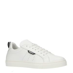 Spike  leren sneakers wit