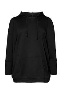VERO MODA CURVE trui van biologisch katoen zwart, Zwart