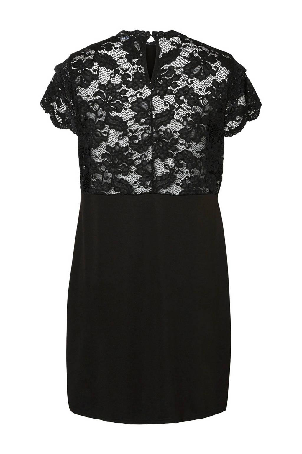 VERO MODA CURVE jurk zwart, Zwart