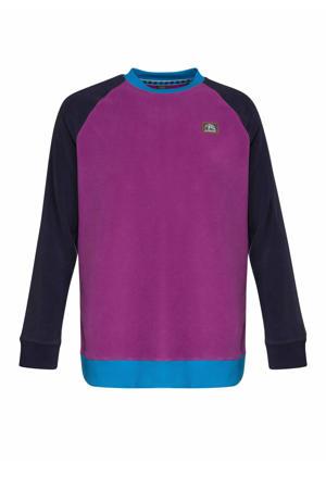 sweater Keen paars/zwart/blauw
