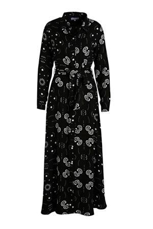 maxi jurk zwart