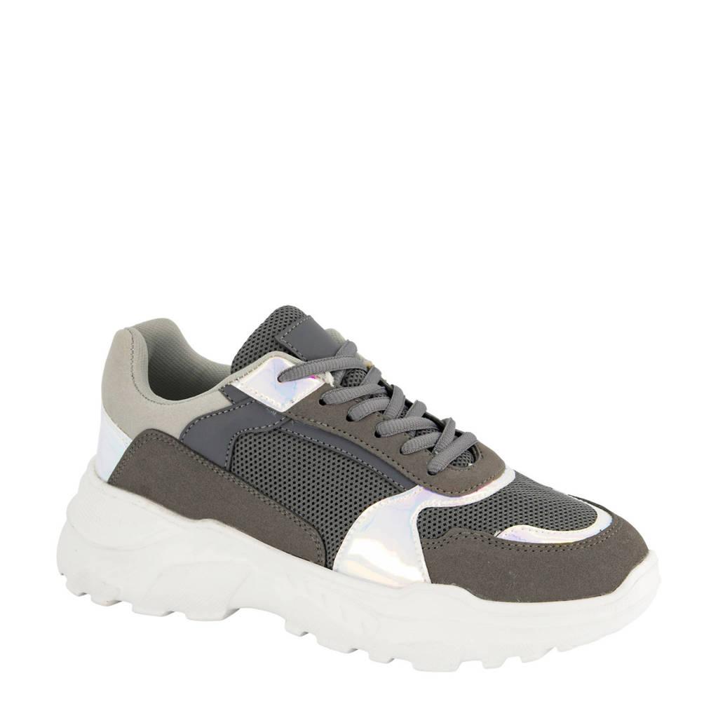 Oxmox   chunky sneakers grijs, Grijs