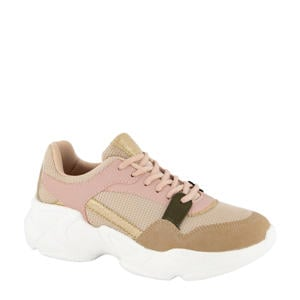 chunky sneakers roze