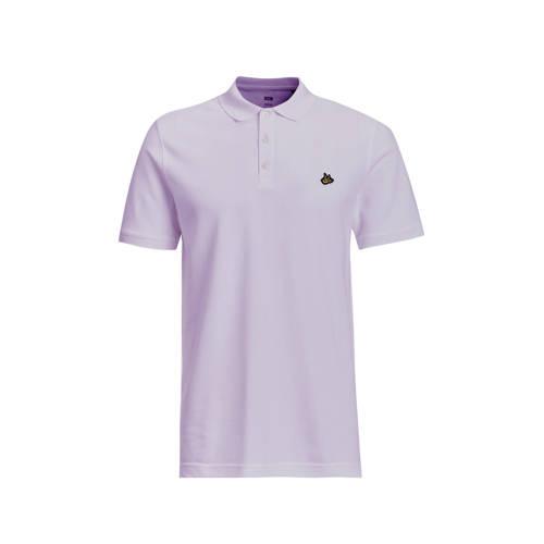 WE Fashion slim fit polo Pencil Purple