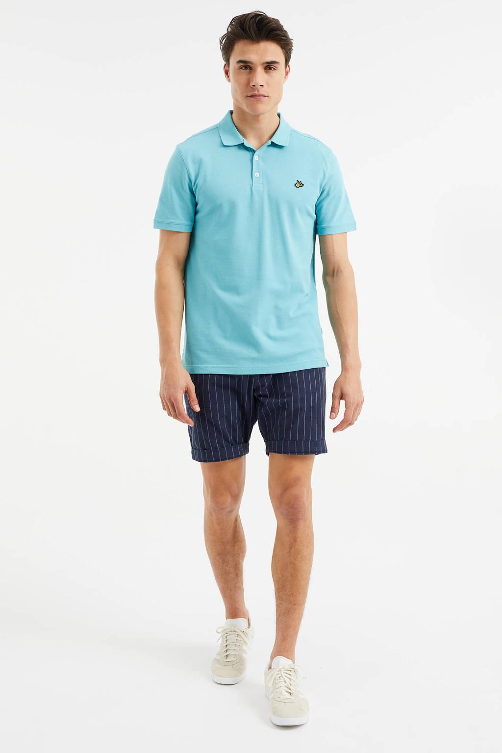 WE Fashion slim fit polo Atlantis