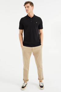 WE Fashion slim fit polo Black Uni