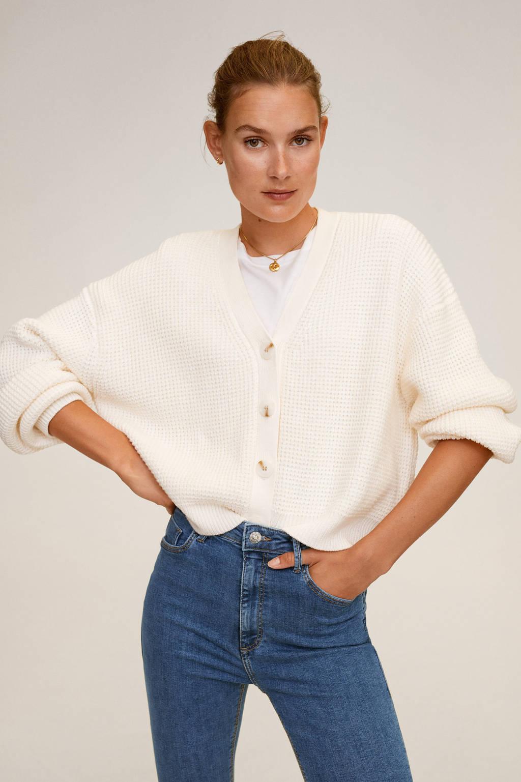 Mango high waist skinny jeans Noa blue