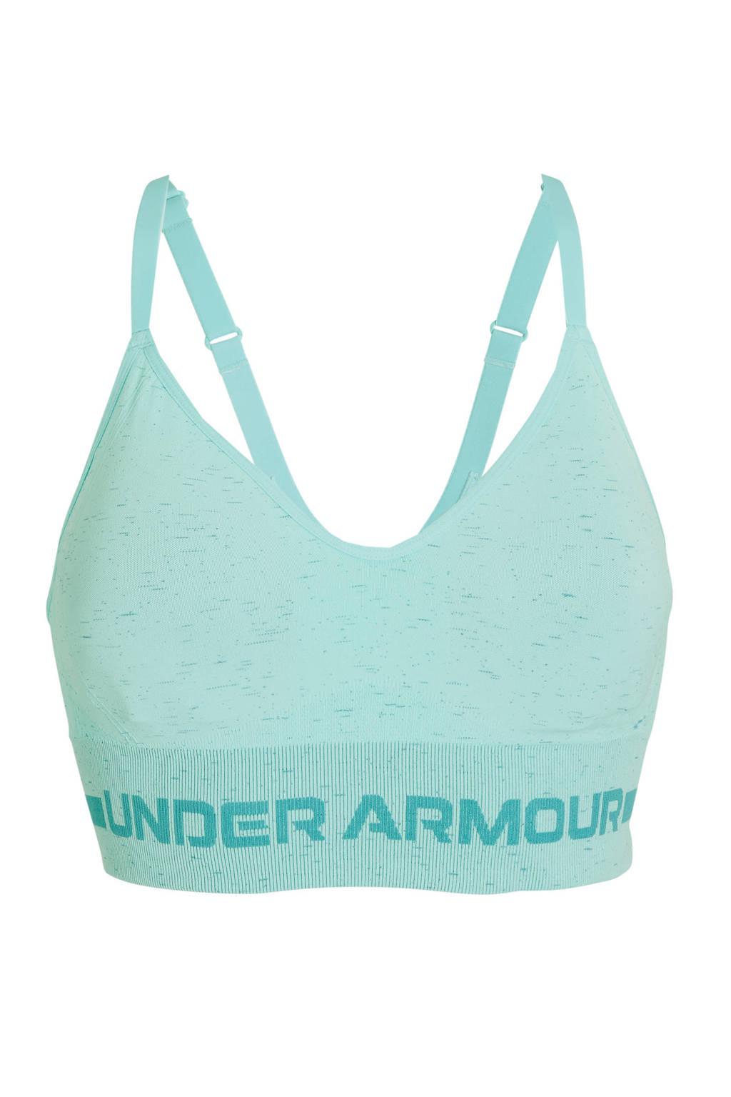 Under Armour level 1 sportbh lichtblauw, Lichtblauw
