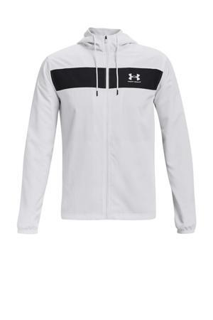sportjack wit/zwart