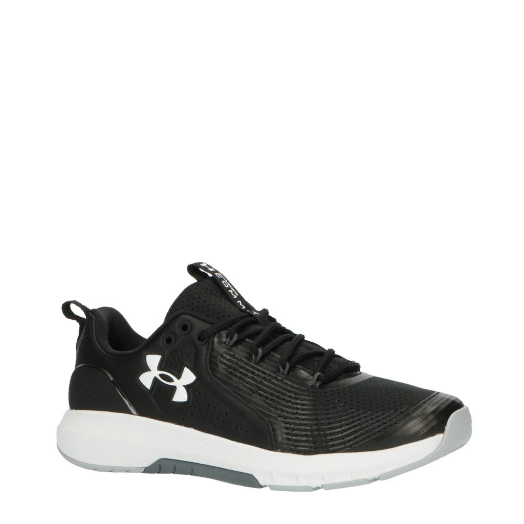 Under Armour Charged Commit Training 3, Zwart/wit