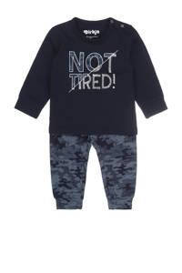 Dirkje pyjama donkerblauw, Donkerblauw