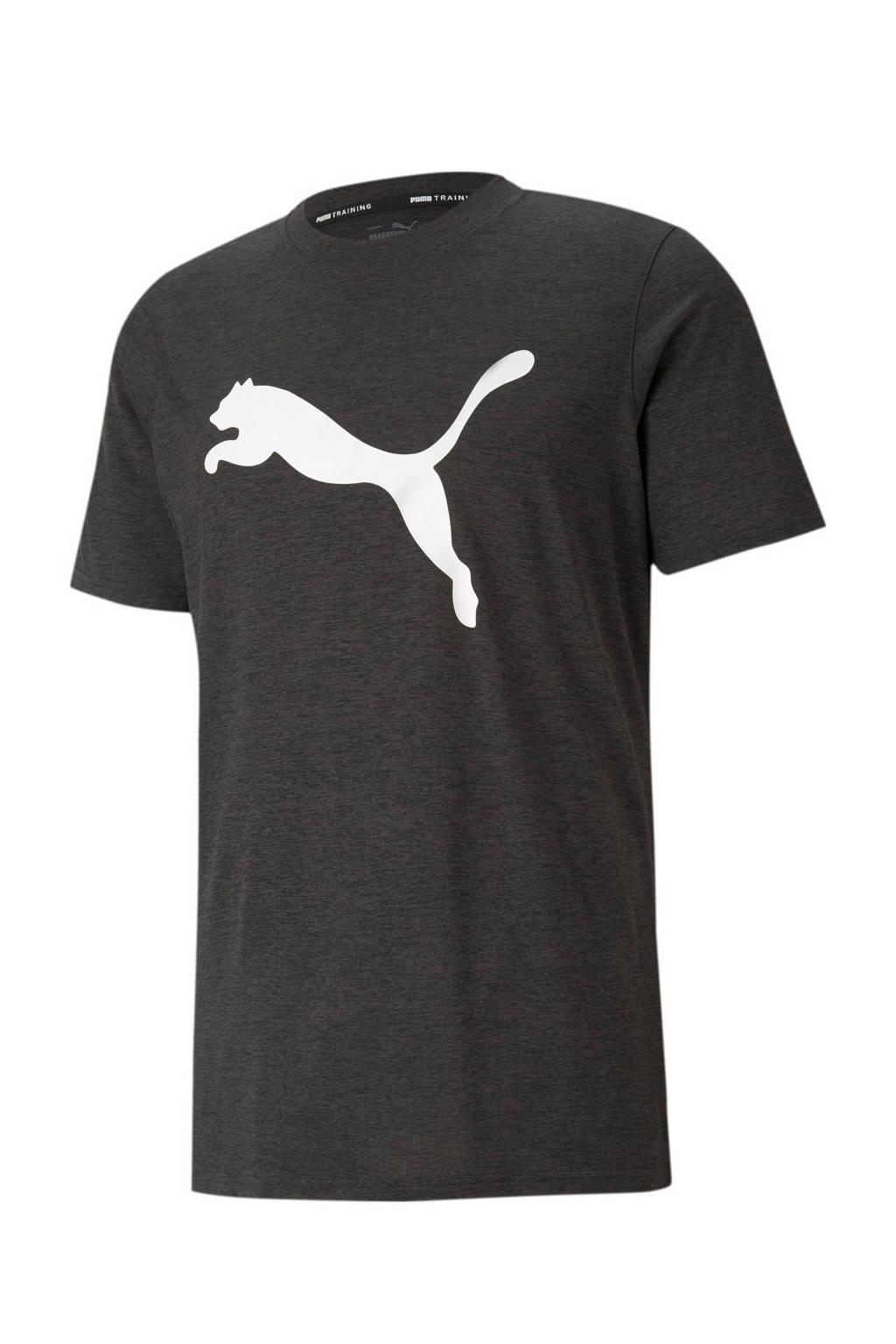 Puma   sport T-shirt donkergrijs, Antraciet