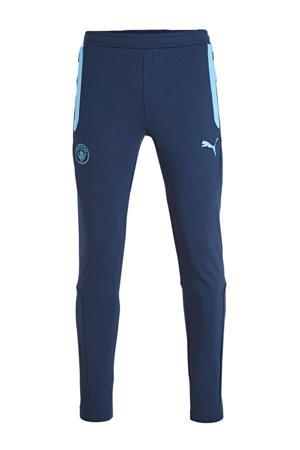 Senior  joggingbroek donkerblauw/lichtblauw