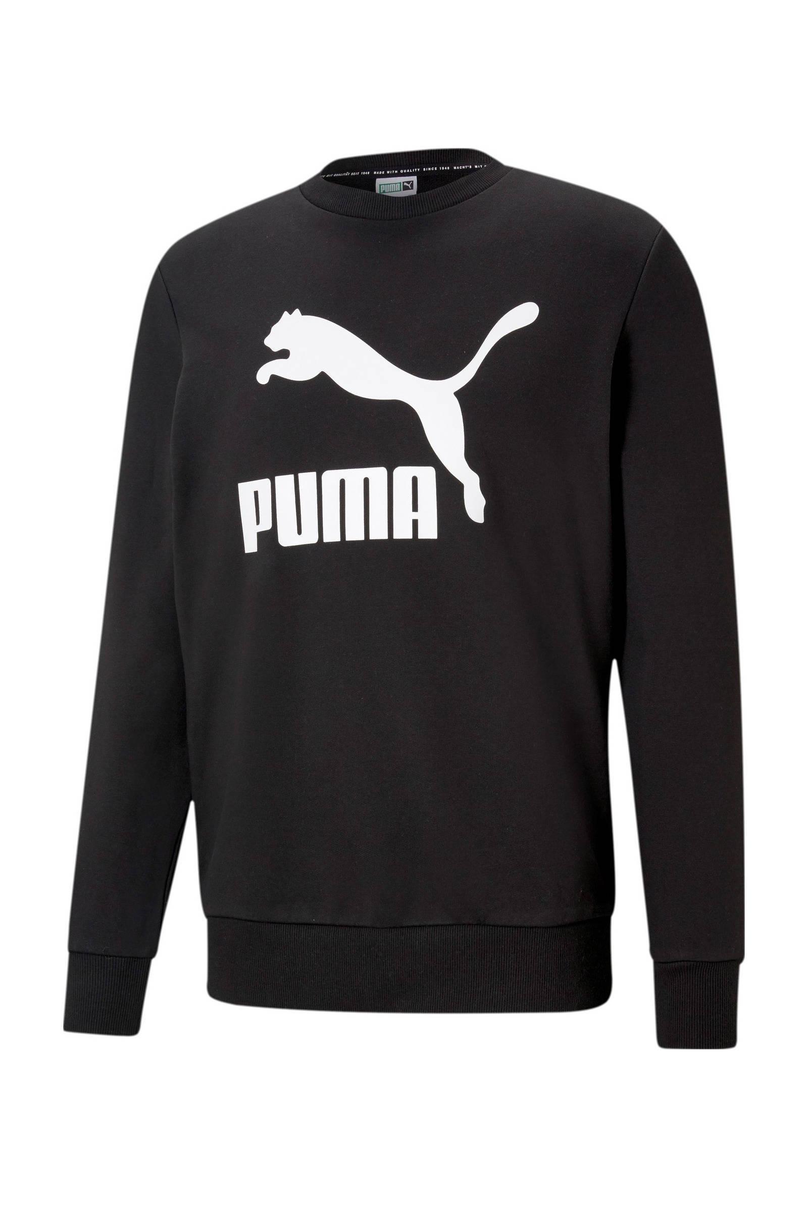 Puma sweater zwart/wit online kopen