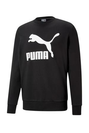sweater zwart/wit
