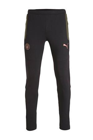 Senior  joggingbroek zwart/donkergroen