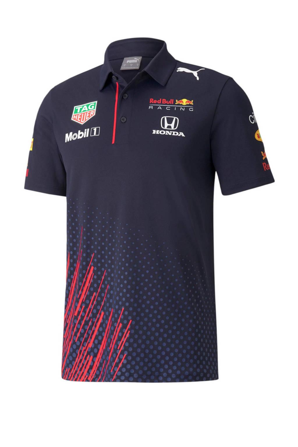 Puma Red Bull Racing Team poloshirt, Donkerblauw
