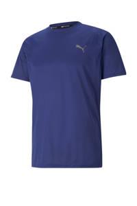 Puma   sport T-shirt blauw, Blauw