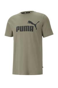 Puma T-shirt kaki, Kaki