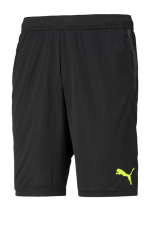 Senior  sportshort zwart/geel