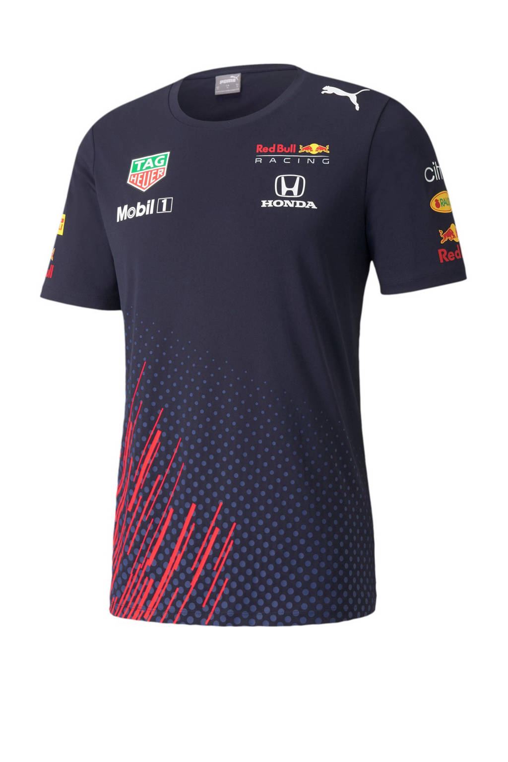 Puma Red Bull Racing Team T-shirt donkerblauw, Donkerblauw