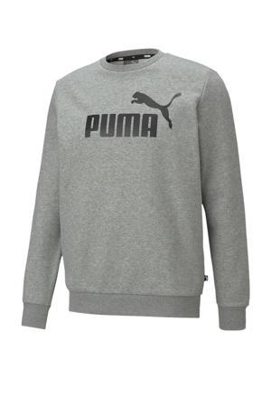 sweater grijs melange