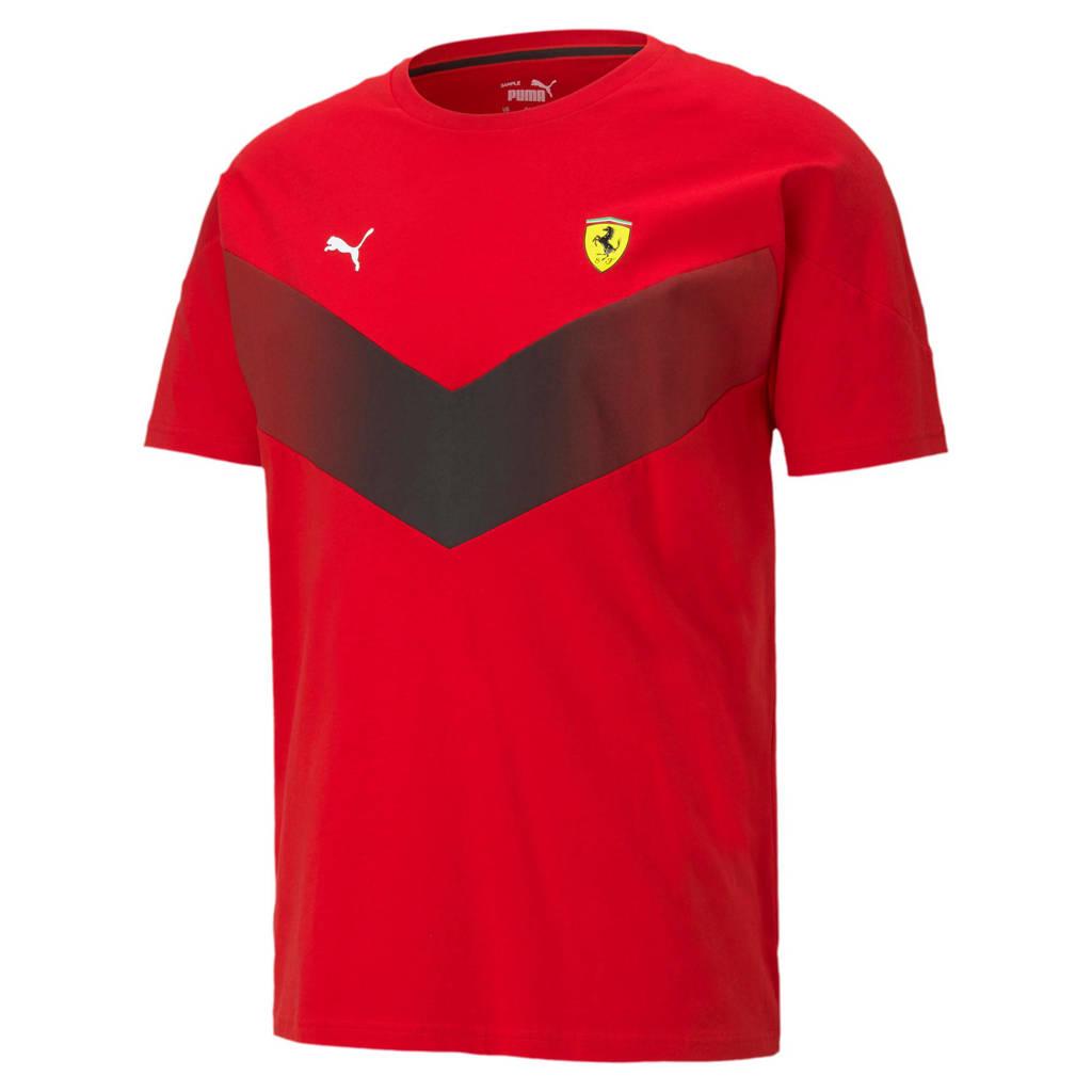 Puma Scuderia Ferrari MCS T-shirt rood, Rood