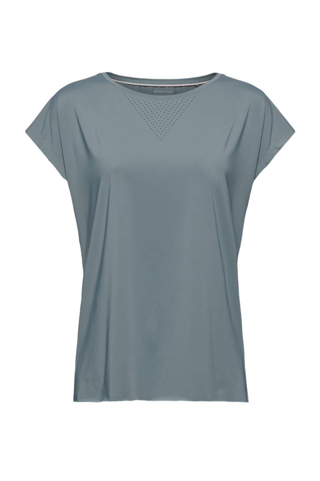 ESPRIT Women Sports sport T-shirt groen, Groen