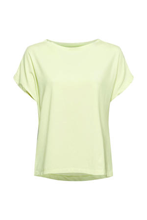 sport T-shirt geel