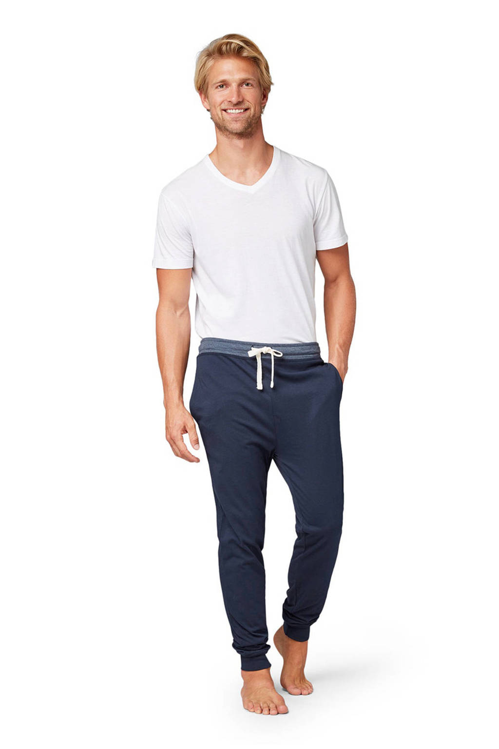 Tom Tailor pyjamabroek donkerblauw, Donkerblauw