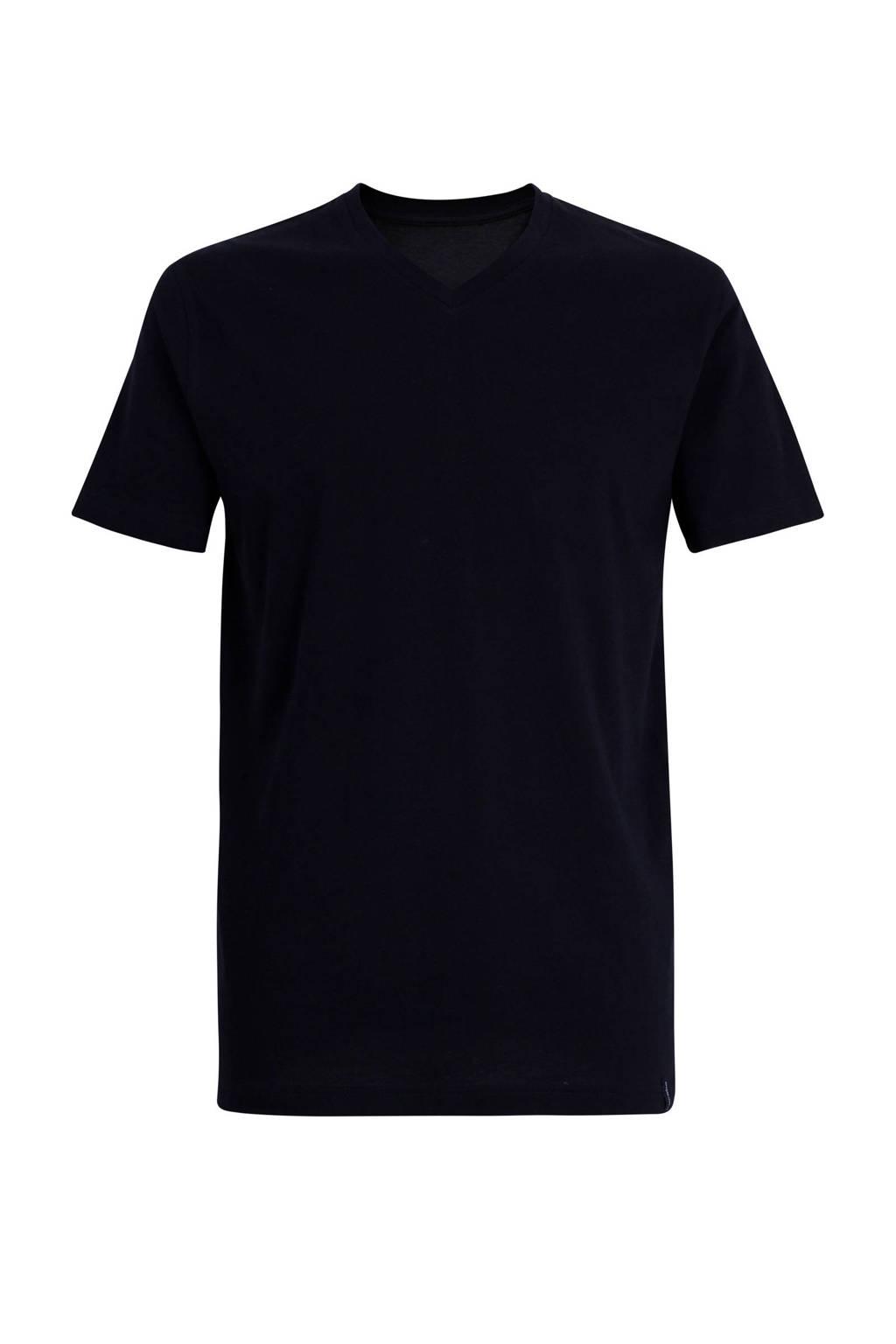 Ceceba +size pyjamatop zwart, Zwart