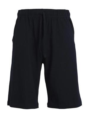 +size pyjamashort zwart