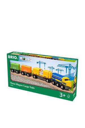 Vrachttrein met drie wagons - 33982