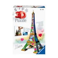 Ravensburger Eiffeltoren Love Edition  3D puzzel 99 stukjes