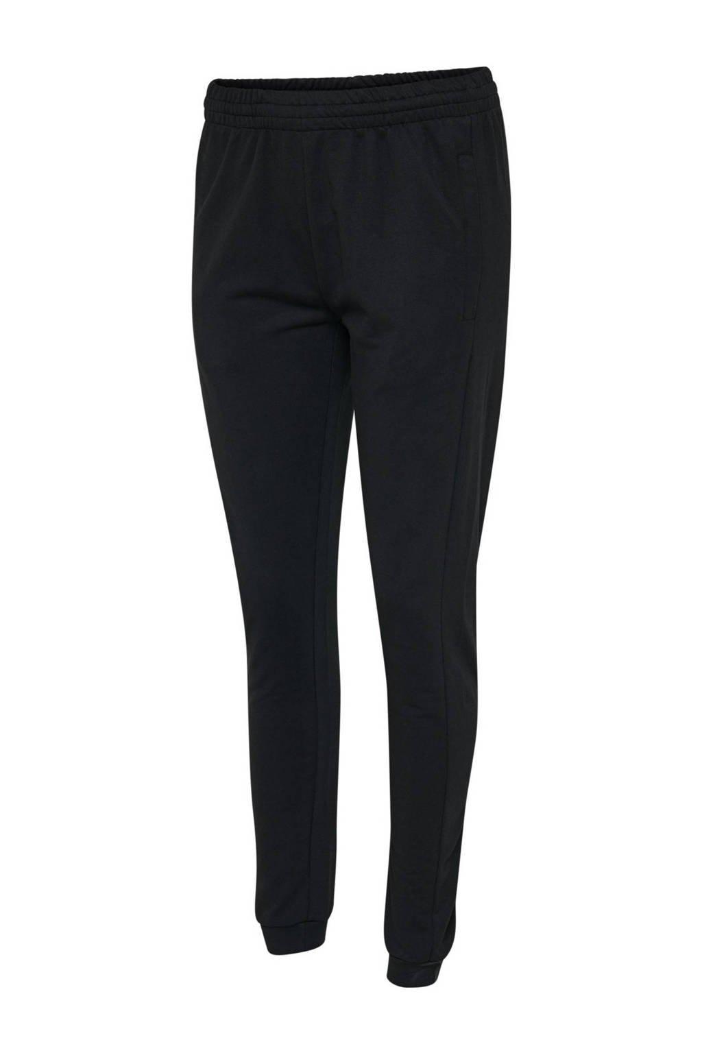 hummel joggingbroek zwart, Zwart