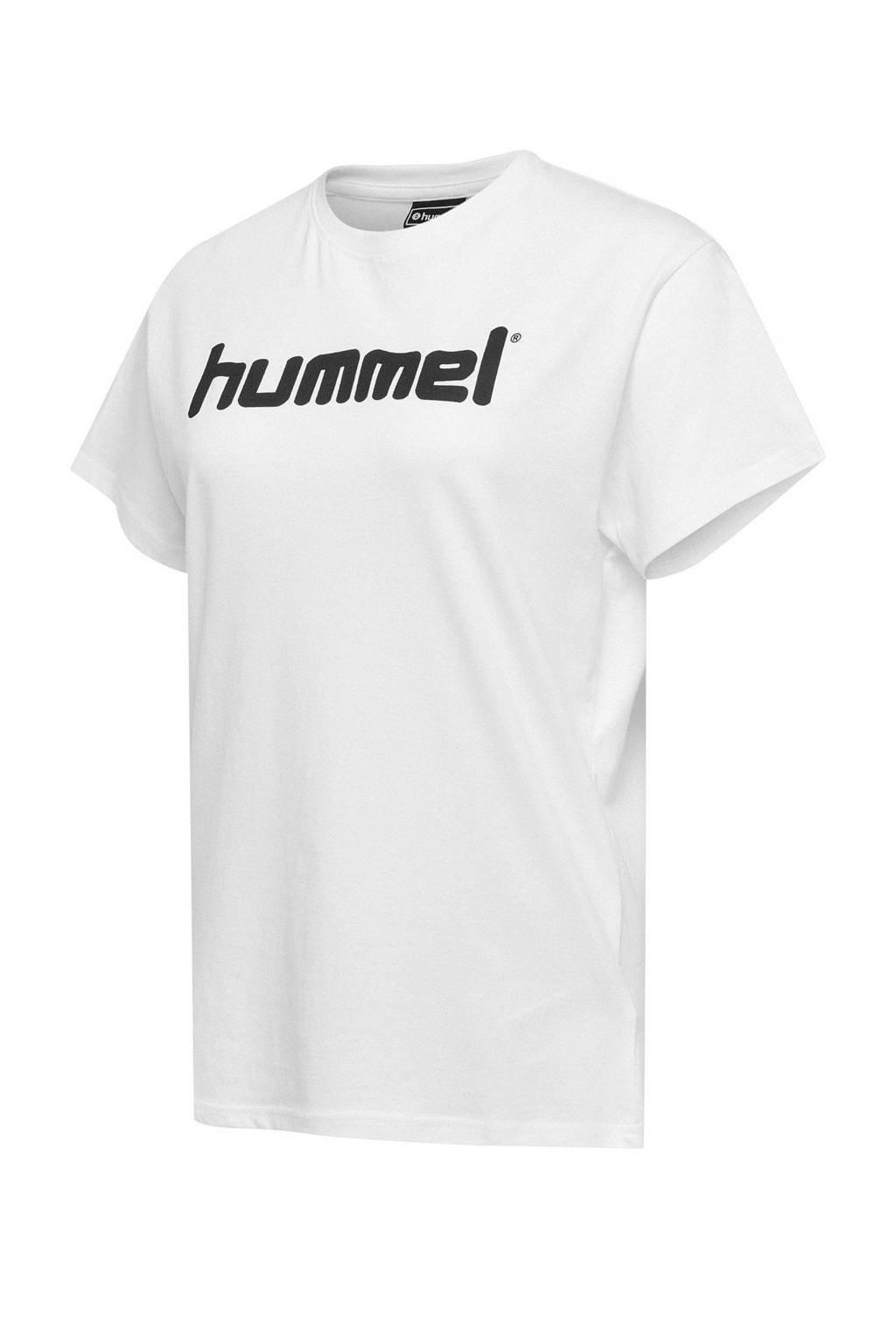 hummel voetbalshirt wit, Wit