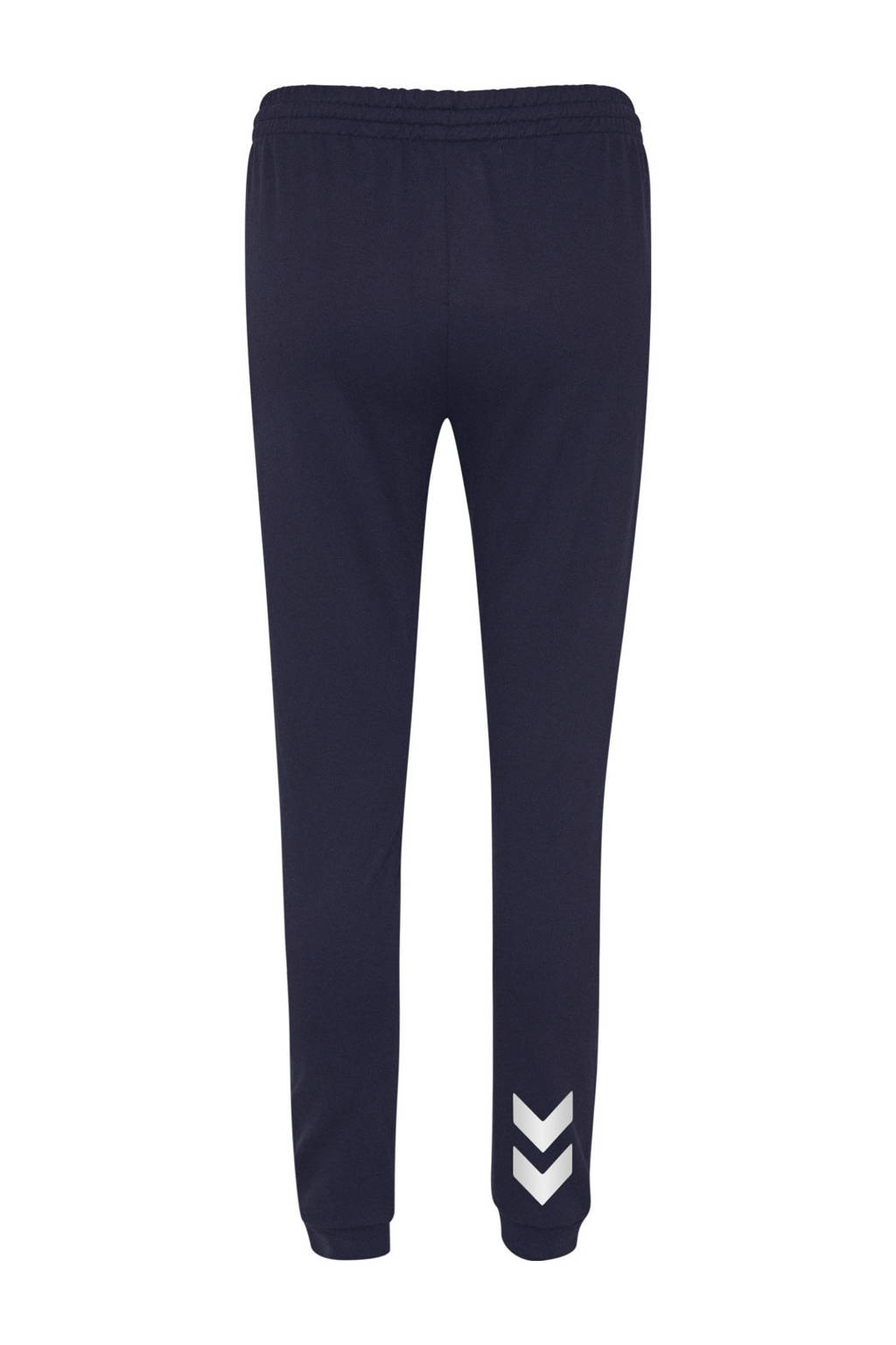 hummel joggingbroek donkerblauw, Donkerblauw