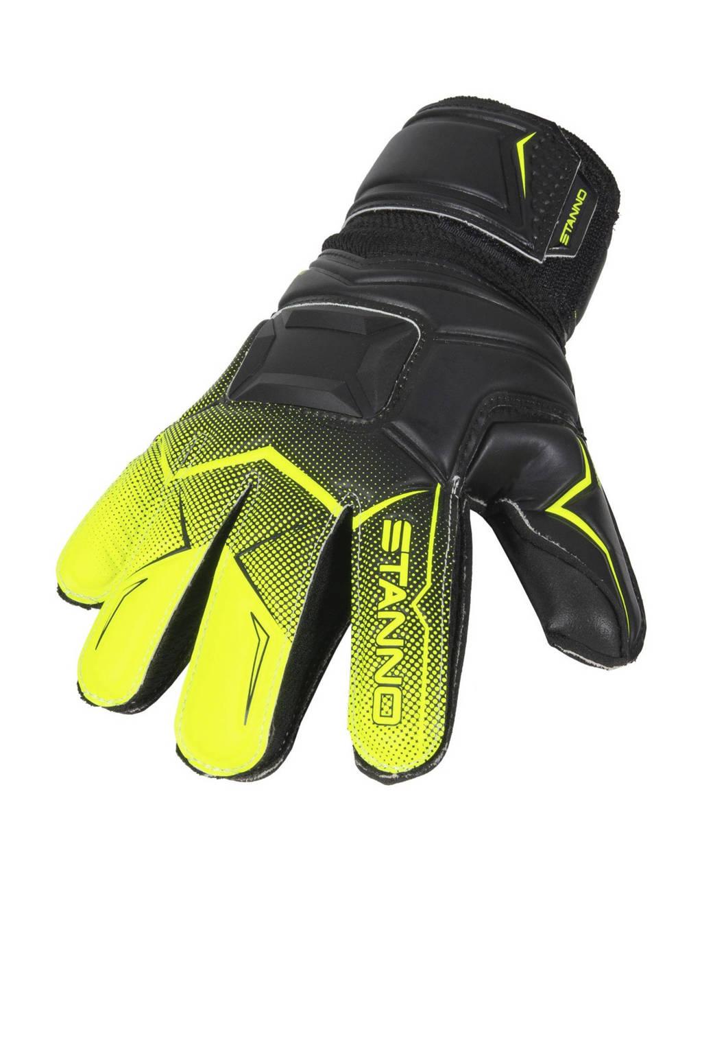 Stanno Junior  Jr. Wild Ltd. keepershandschoenen zwart/felgeel