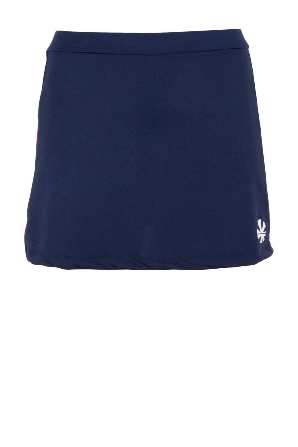 Reece Australia sportrokje donkerblauw/oranje/wit, Donkerblauw/oranje/wit