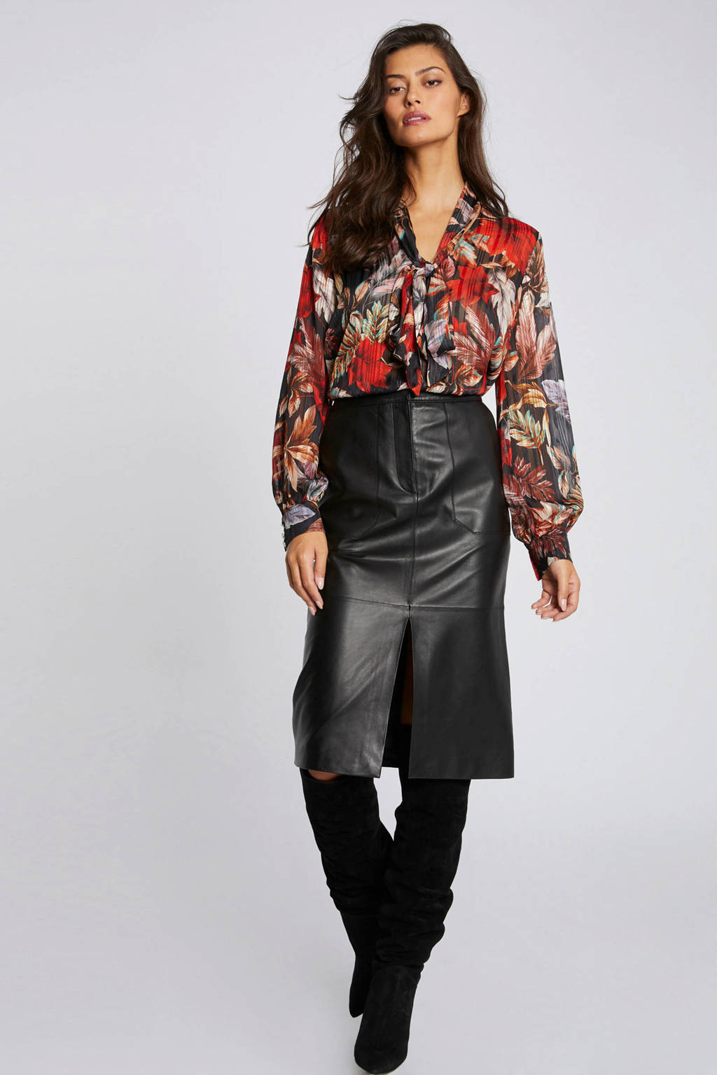 Morgan blouse met all over print multico, MULTICO