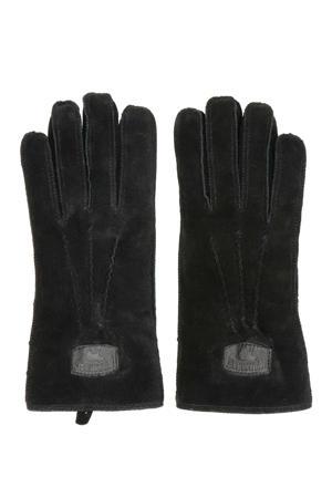 suède handschoenen zwart