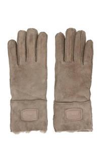 Warmbat Australia suède handschoenen taupe, Taupe