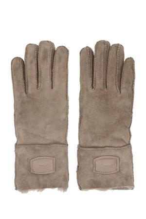 suède handschoenen taupe
