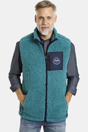 bodywarmer Canute turquoise
