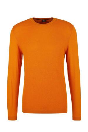trui met wol oranje