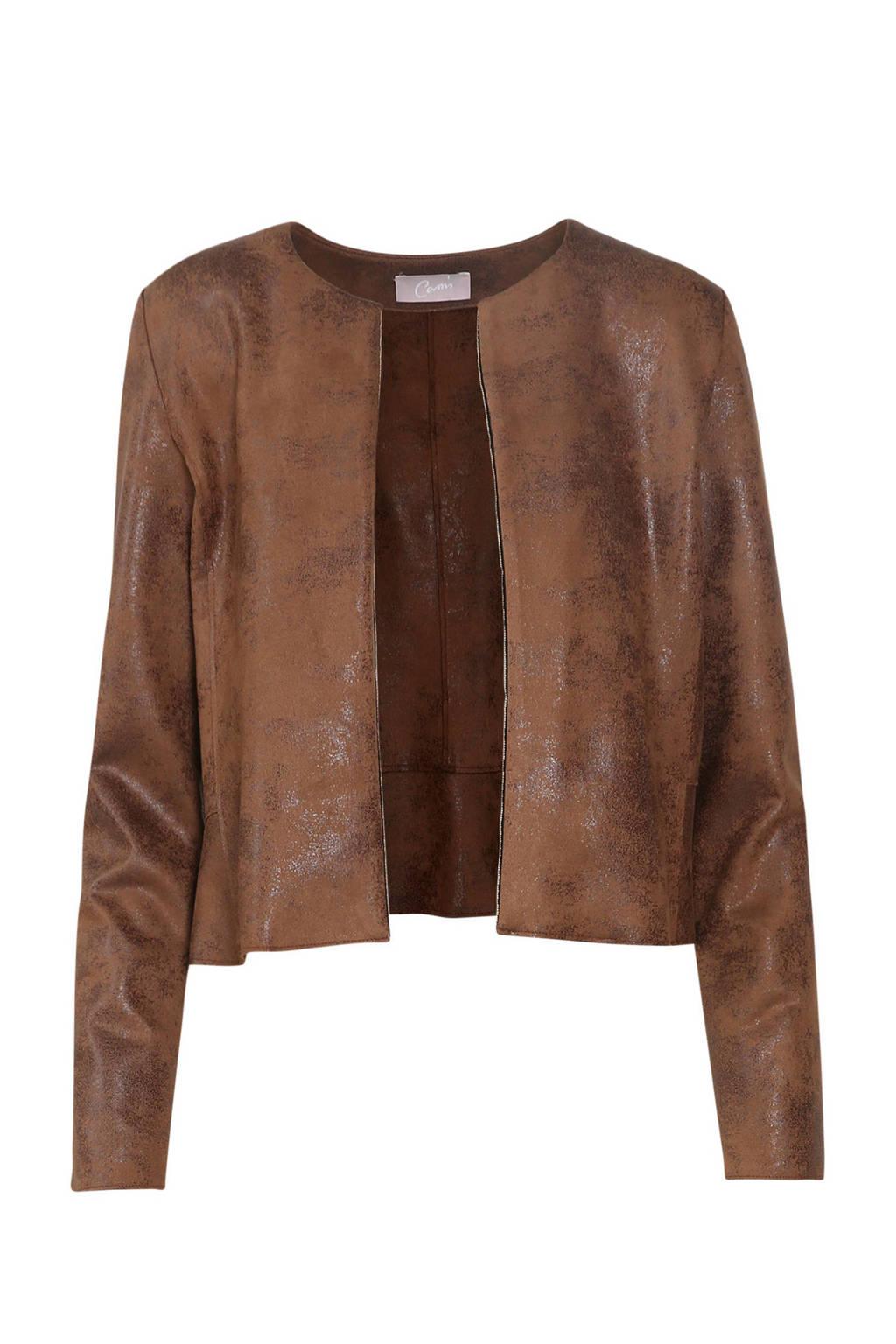 Cassis coated jasje bruin, Bruin