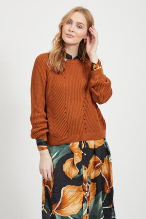 trui van biologisch katoen oranje