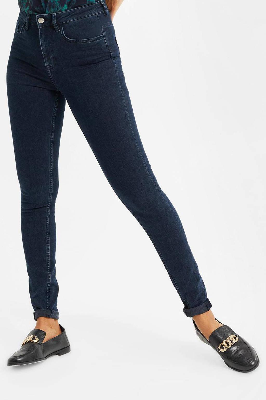 WE Fashion Blue Ridge high waist skinny jeans blue denim, Blue denim